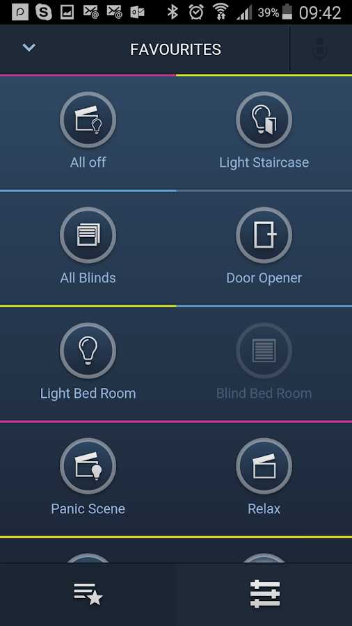 busch free home smarter home android apps on google play. Black Bedroom Furniture Sets. Home Design Ideas