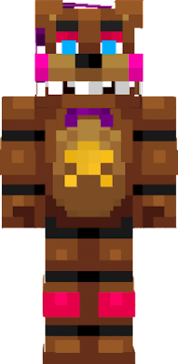Rock with this Rockstar Freddy skin from Freddy Fazbear's Pizzaria that you won't find anywhere else!
