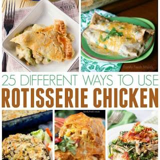 Different Ways to Use Rotisserie Chicken.