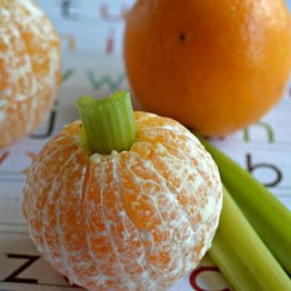 Easy Orange Pumpkins
