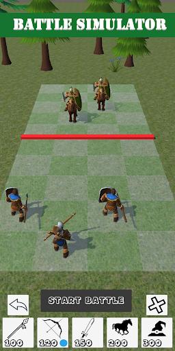 Battle Simulator - Simulateur de bataille  captures d'écran 2