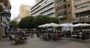 Ambiente en la Plaza de los Burros.