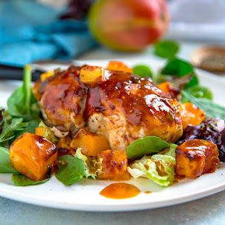 Baked Barbecue Mango Chicken Recipe