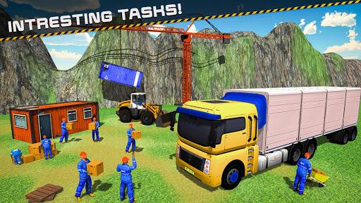 Cargo Crew Truck Sea Port Driver for PC