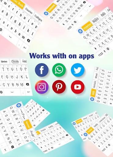 Fonts Keyboard - Text Fonts & Emoji 1.1.4 screenshots 7
