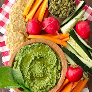Radish Greens Pesto.
