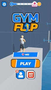 Gym Flip Mod Apk Latest 3.1 [No Ads + Fully Unlocked] 1