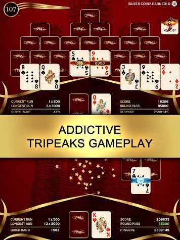 Towers TriPeaks: Classic Pyramid Solitaire Screenshot