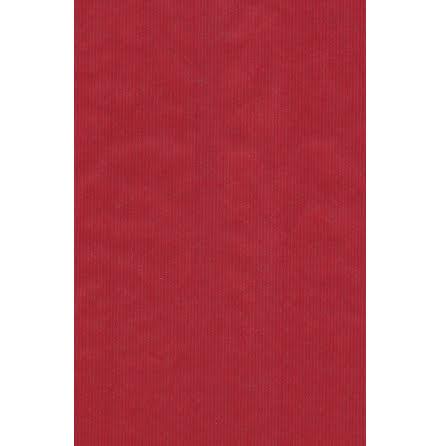 Presentpapper ribbad röd
