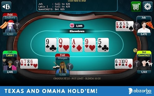 Live Poker Tables–Texas holdem - Android Apps on Google Play