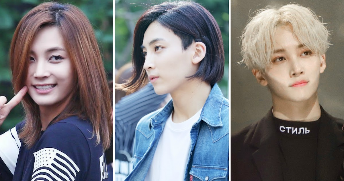 Here Are 14 Hairstyles That Seventeen S Jeonghan Has Had Showing How Drastically They Have Changed Koreaboo