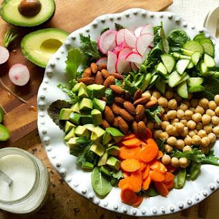Chopped Salad with Buttermilk-Peppercorn Dressing Recipe