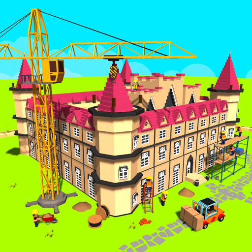 Fairy Tale Girls Craft : Blocky Princess World 3D