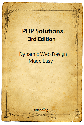 PHP Solutions 3rd Edition - PDF Books