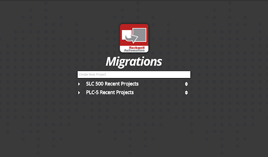 Rockwell Automation Migrations- screenshot thumbnail