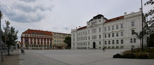 Photo: Miasto założone zostało w XIII w. przez Przemysława Ottokara II jako Hradiste. Nową nazwę nadali husyci, którzy przybyli tu po ucieczce z Pragi w 1420.