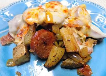 Kielbasa Potato Bake Recipe