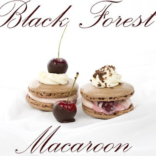 Black Forest Macaroons
