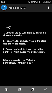 App Convert video or audio to mp3 APK for Windows Phone