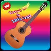 Kunci Gitar dan Lirik Lagu