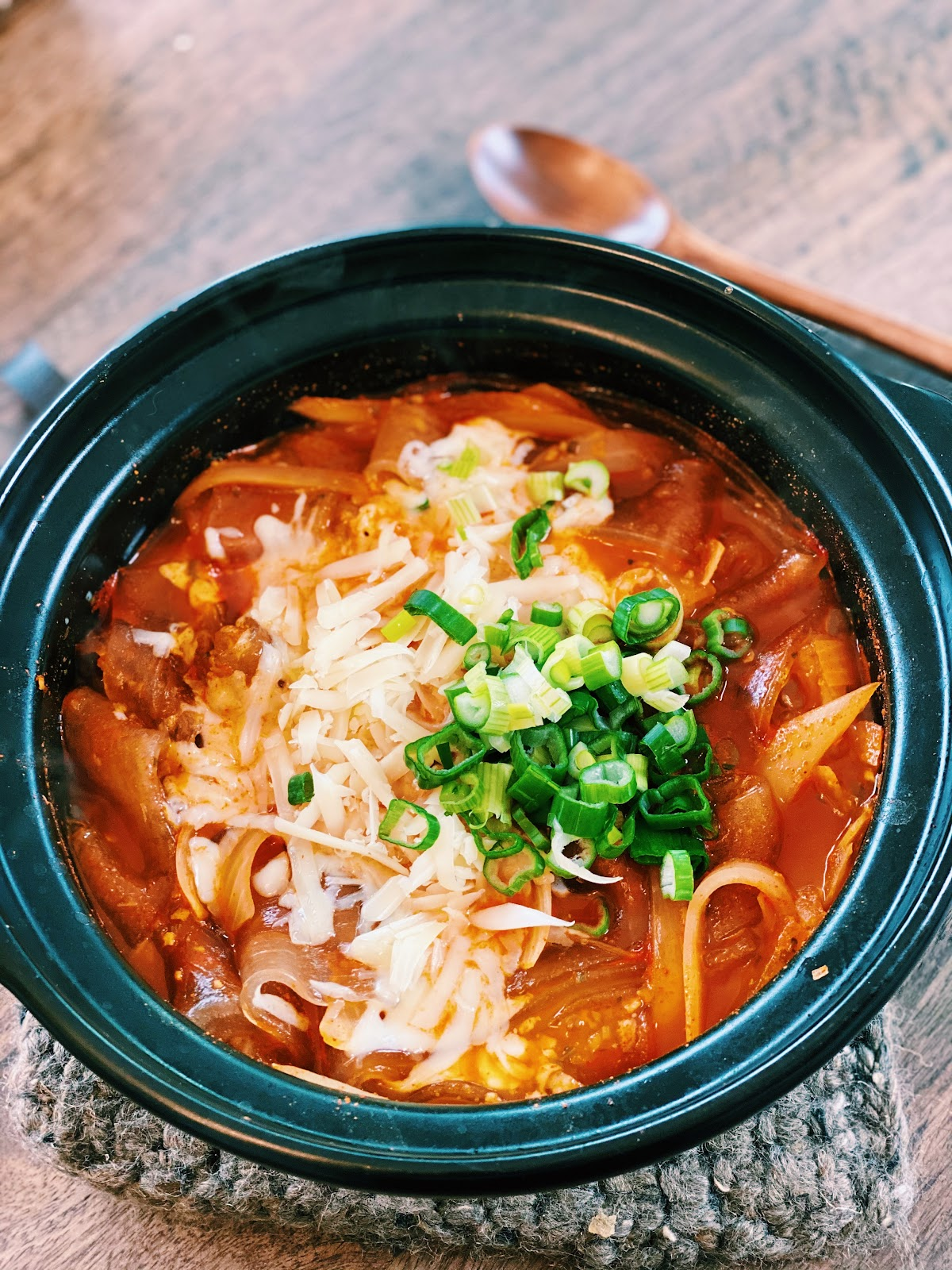 Spicy Korean Chewy Noodles