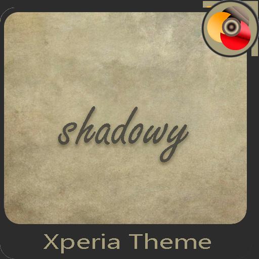 shadowy | Xperia™ Theme