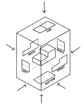 Object in a Transparent Box