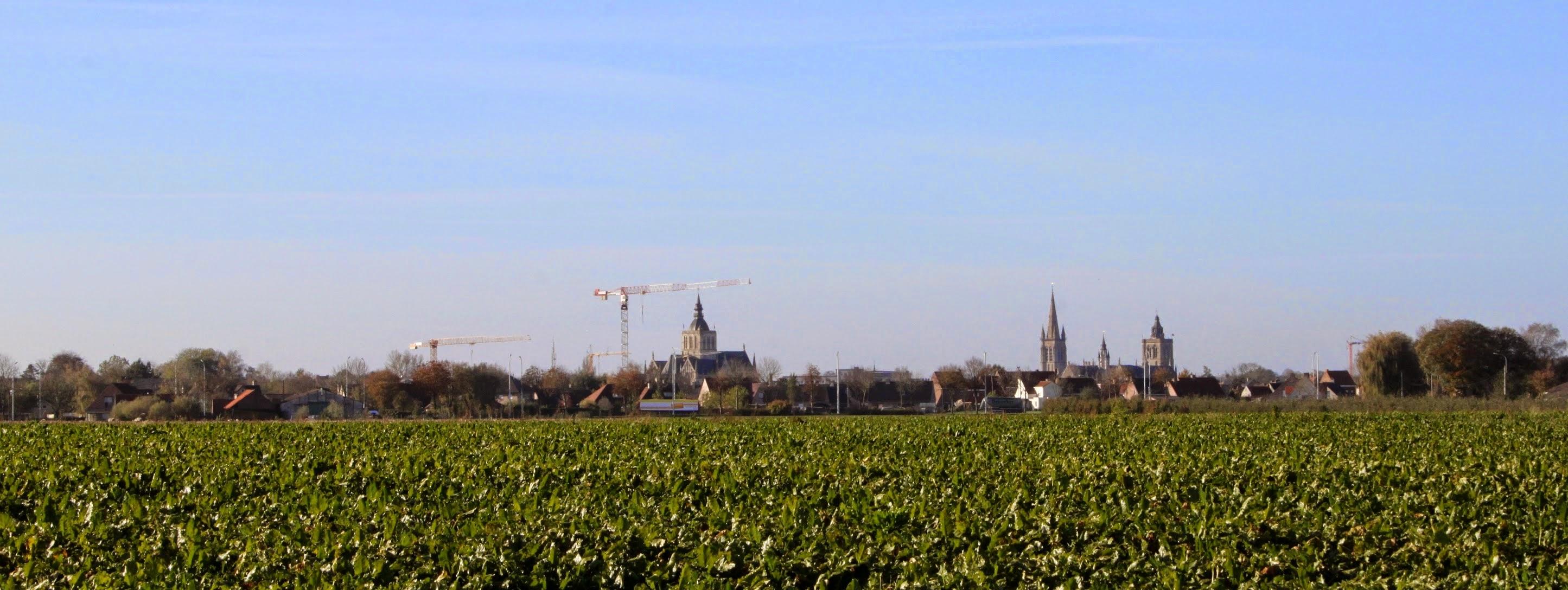 Photo: De Skyline van Poperinge