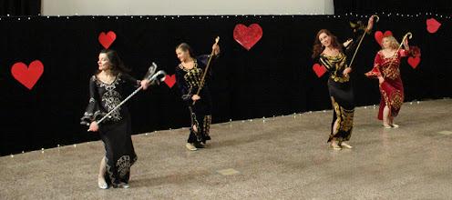 Photo: Saidi (kor. H. Lindgren, tanssijat M. Jordan, R. Räsänen, A. Saarikoski, A. Horning)