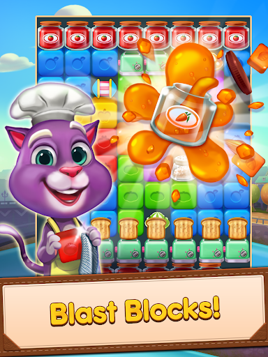 Blaster Chef: Culinary match & collapse puzzles