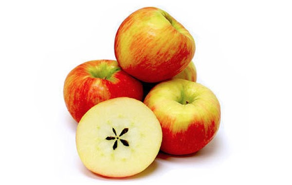 Honey Crisp - eat fresh, use in baking and cooking Honeycrisp apples have a yellow...