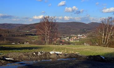 Photo: Links Buchberg (~440m), etwas vorgezogen der Sagberg (435m) und Hochram (459m); Frauenwart und Feuersteinberg kennt Ihr ja schon.