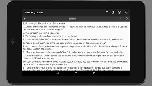 Bu00edblia King James Atualizada - Pu00e3o da Vida  screenshots 12