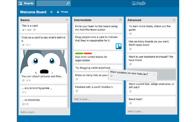 Leap Motion for Trello and JIRA