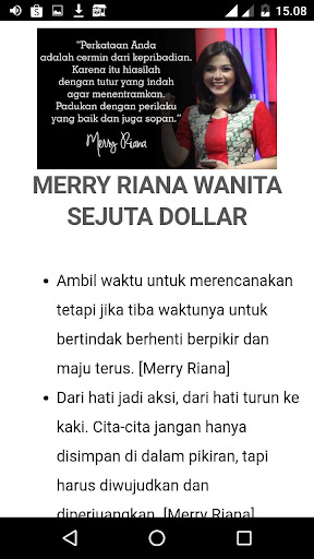 Quotes Motivasi Merry Riana Download Apk Free For Android Apktume Com