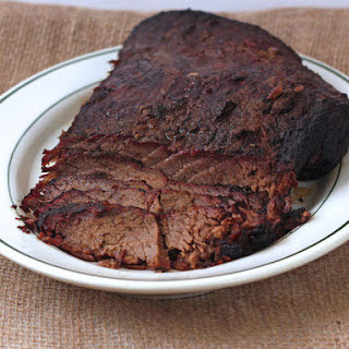 Jack and Coke Brisket for Man Food Mondays