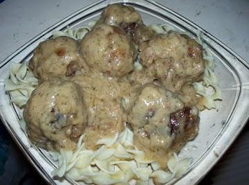 Swedish Meat Balls Recipe