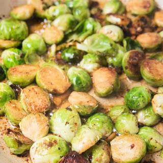 Garlic SautéEd Brussels Sprouts Recipe