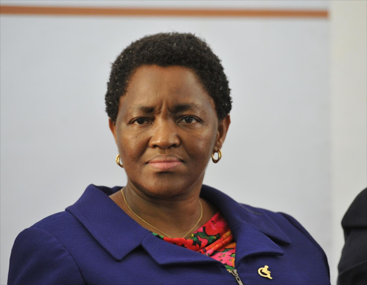 Minister of Social Development, Ms Bathabile Dlamini. File photo.