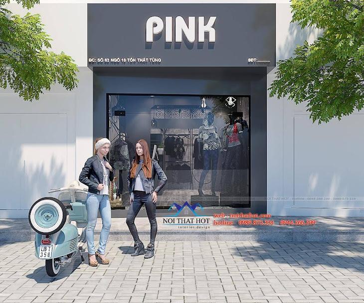 thiết kế shop thời trang nữ cá tính 4