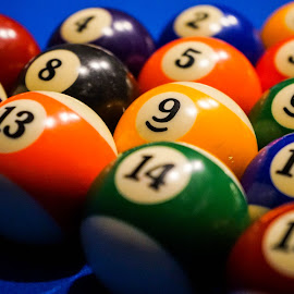 Pool Balls by Viks Pix - Artistic Objects Other Objects ( ball, game, color, balls, pool, numbers, ascending, sport, descending, colorful, table, order )