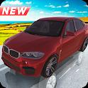 x6 Bmw Suv Off-Road Driving Simulator Game Free icon