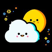 Smiling Weather Icons Set for Chronus