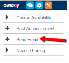 Scholar Qwickly Send Email