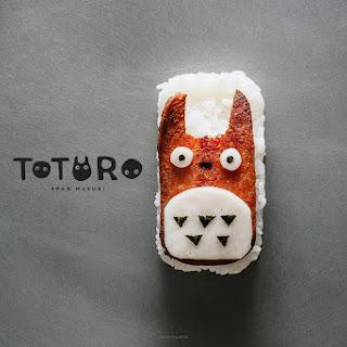 Totoro Spam Musubi
