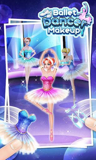 芭蕾舞演員化妝 - 免費女孩遊戲