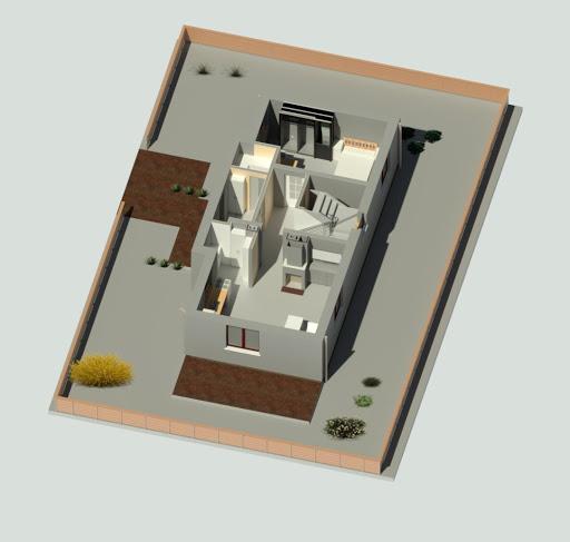 Allegro - Rzut parteru 3D