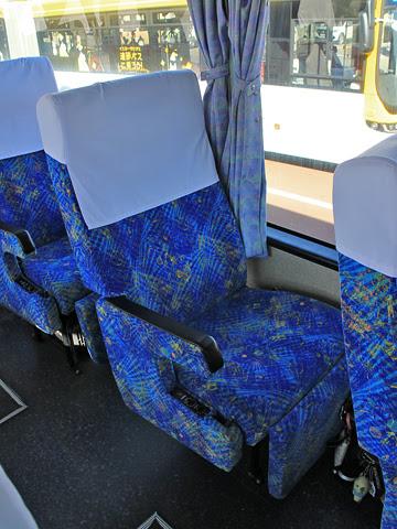 西鉄「フェニックス号」 6016 2+1シート 独立シート