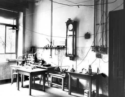Laboratory where Prof. Röntgen discovered the X-rays.