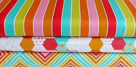 Photo: Rainbow Power Stripe & Rainbow Hexagon & Rainbow Rick Rack